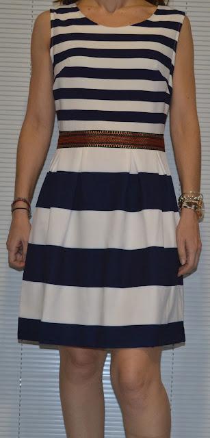 Vestido rayas de Mais Moda