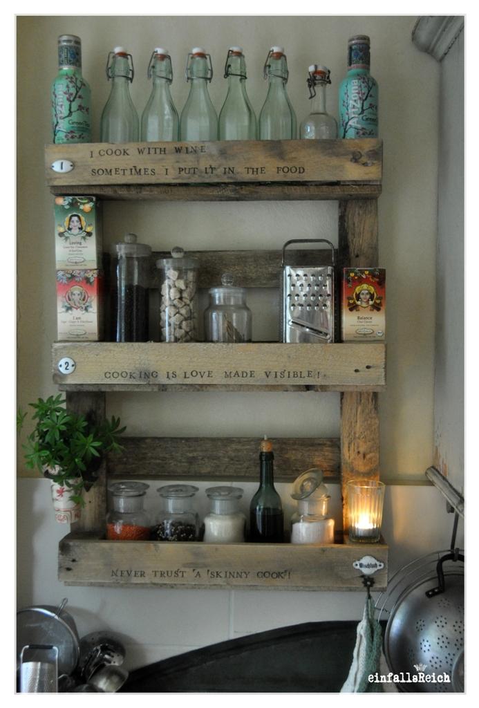 diy alles paletti und mmh fettucine mit tomaten schafsk se einfallsreich. Black Bedroom Furniture Sets. Home Design Ideas