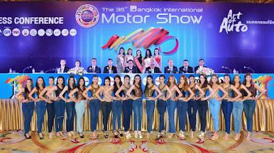 Bangkok Motor Show 2015 : salah satu dari 5 pameran mobil terbaik