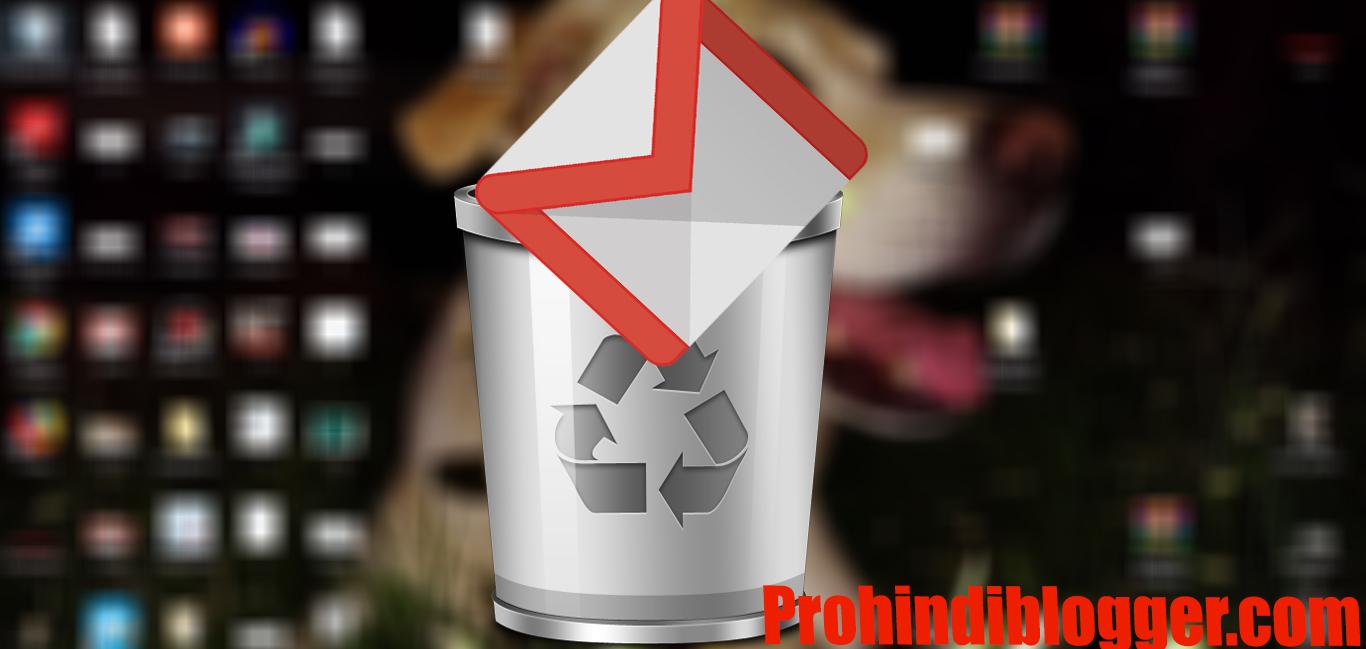 Delete Gmail Account - Gmail Account Delete Kaise Kare