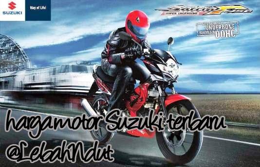 Daftar Harga Motor Suzuki Baru Bekas Terlengkap