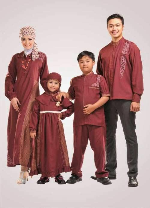 Model Baju Muslim Untuk Keluarga