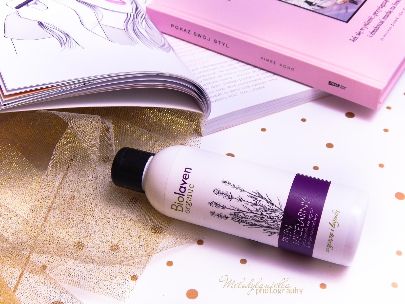 5 biolaven organic płyn micelarny olej z pestek winogron olejek lawendowy kosmetyki do demakijażu test płynu micelarnego melodylaniella twój styl 2015 recenzja kosmetyków lifestyle blogger polskie blogerki