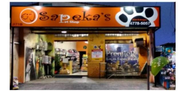 Animais de estimação - Sapeka s Pet Shop