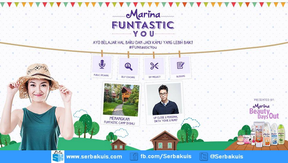 Kontes Marina Funtastic You Berhadiah Funtastic Camp di Bali