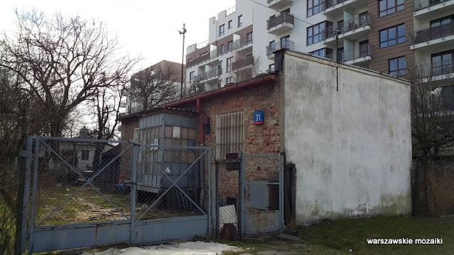 Warszawa Warsaw Wola Odolany ostańce
