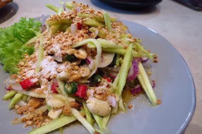 Kra Pow Thai Restaurant, mango salad