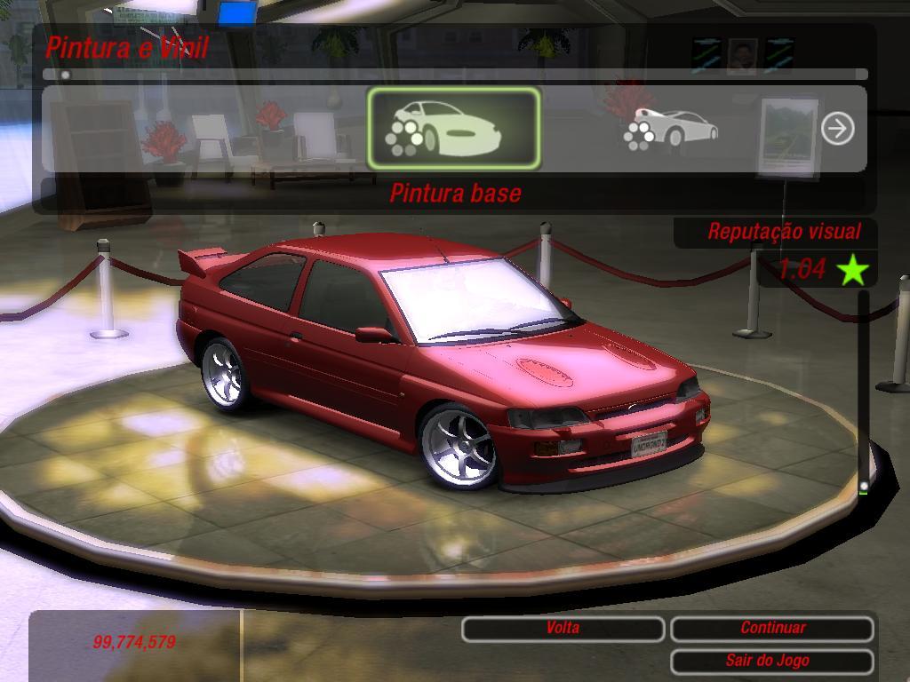 patch de carros brasileiros para nfsu2