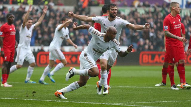 [Video] Cuplikan Gol Swansea 3-1 Liverpool (Liga Inggris)