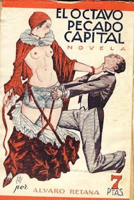 literatura erotica sado alvaro retana octavo pecado