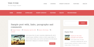 The Fung Blogger Template of 2019