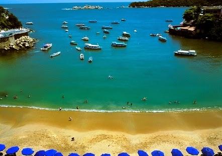 Praia Cletilla em Acapulco