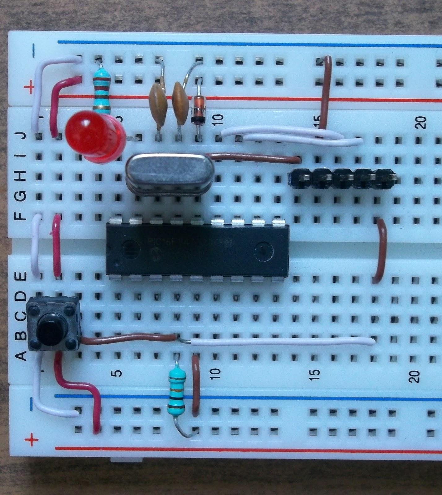 1 знакомство с микроконтроллером pic16f84a