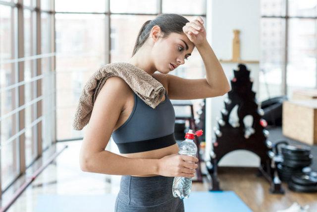 Buồn nôn khi tập gym