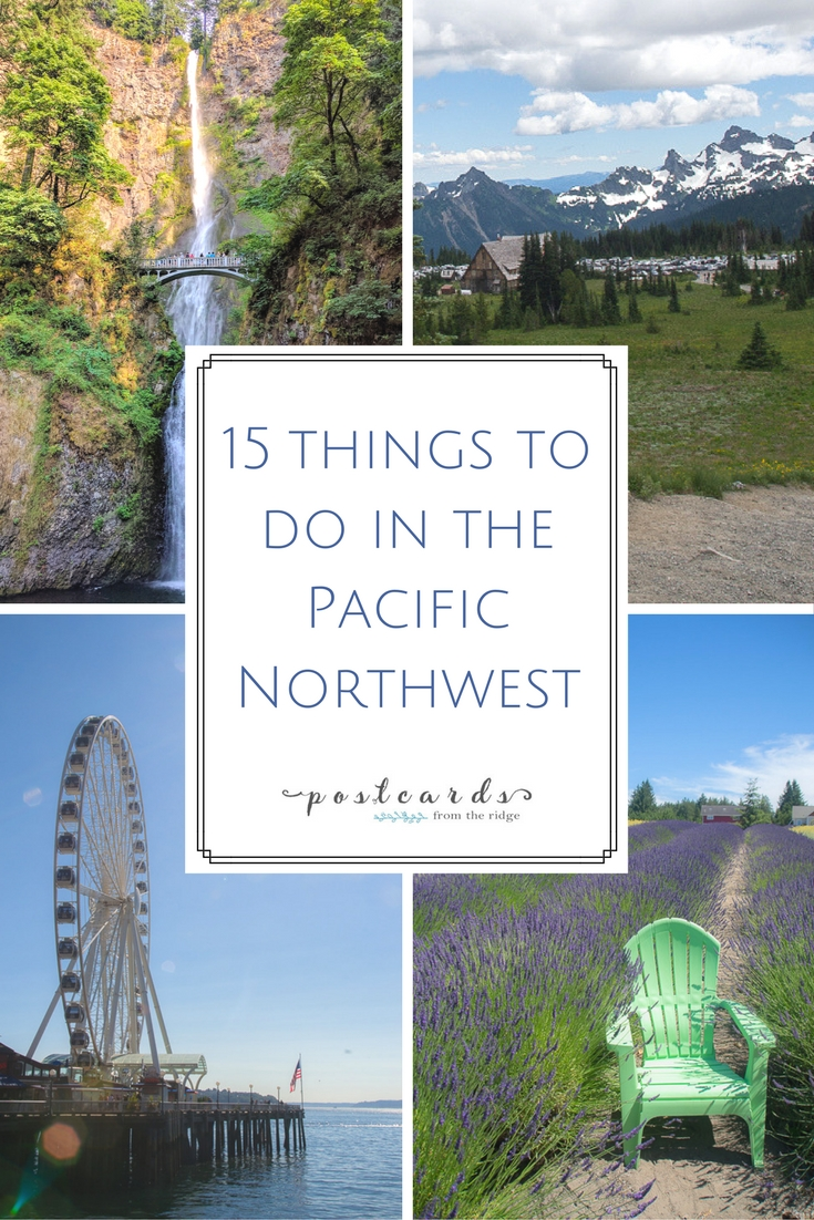 Things to see and do in the Pacific Northwest including Seattle, National Parks, Oregon Coast, and Washinton