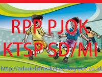 Download RPP PJOK KTSP SD/MI Kelas 1 Sampai 6