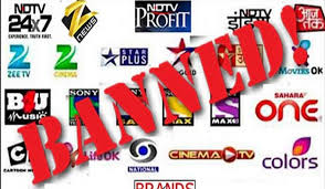 After films, Indian TV channels banned in Pak