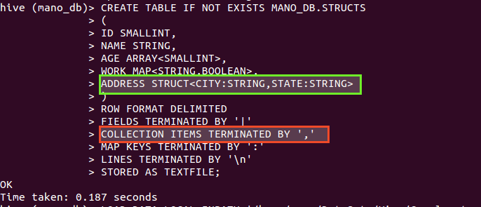 All about Hadoop: 7)Hive Data Definition Language(DDL)- Table Examples