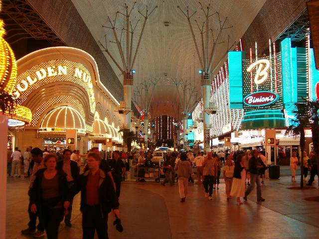 Observar o centro de Las Vegas