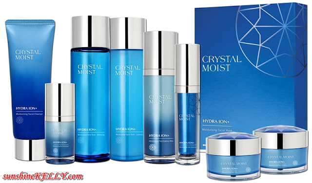 Crsytal Moist, Hydra ION+, Bright ION+, Korean Skincare, Guardian Malaysia, Ju Eun-Young, k beauty, korean beauty