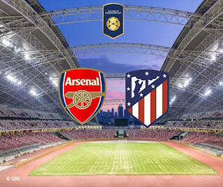 Atletico Madrid vs Arsenal Live Stream 26.7.2018