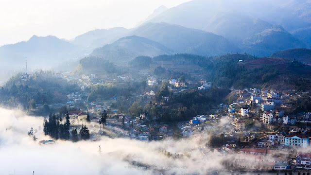 Ham Rong Mountain Charm in The Mist 2