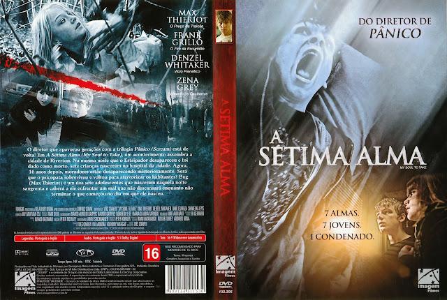 Capa DVD A Sétima Alma