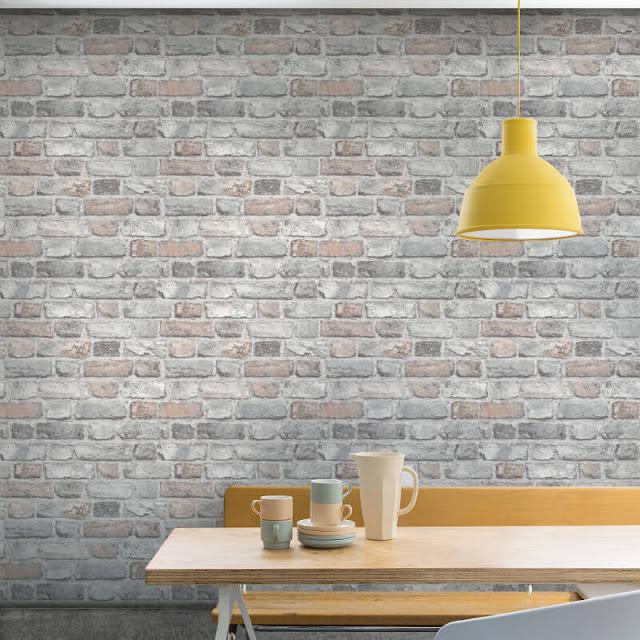 Model Dinding Batu Bata