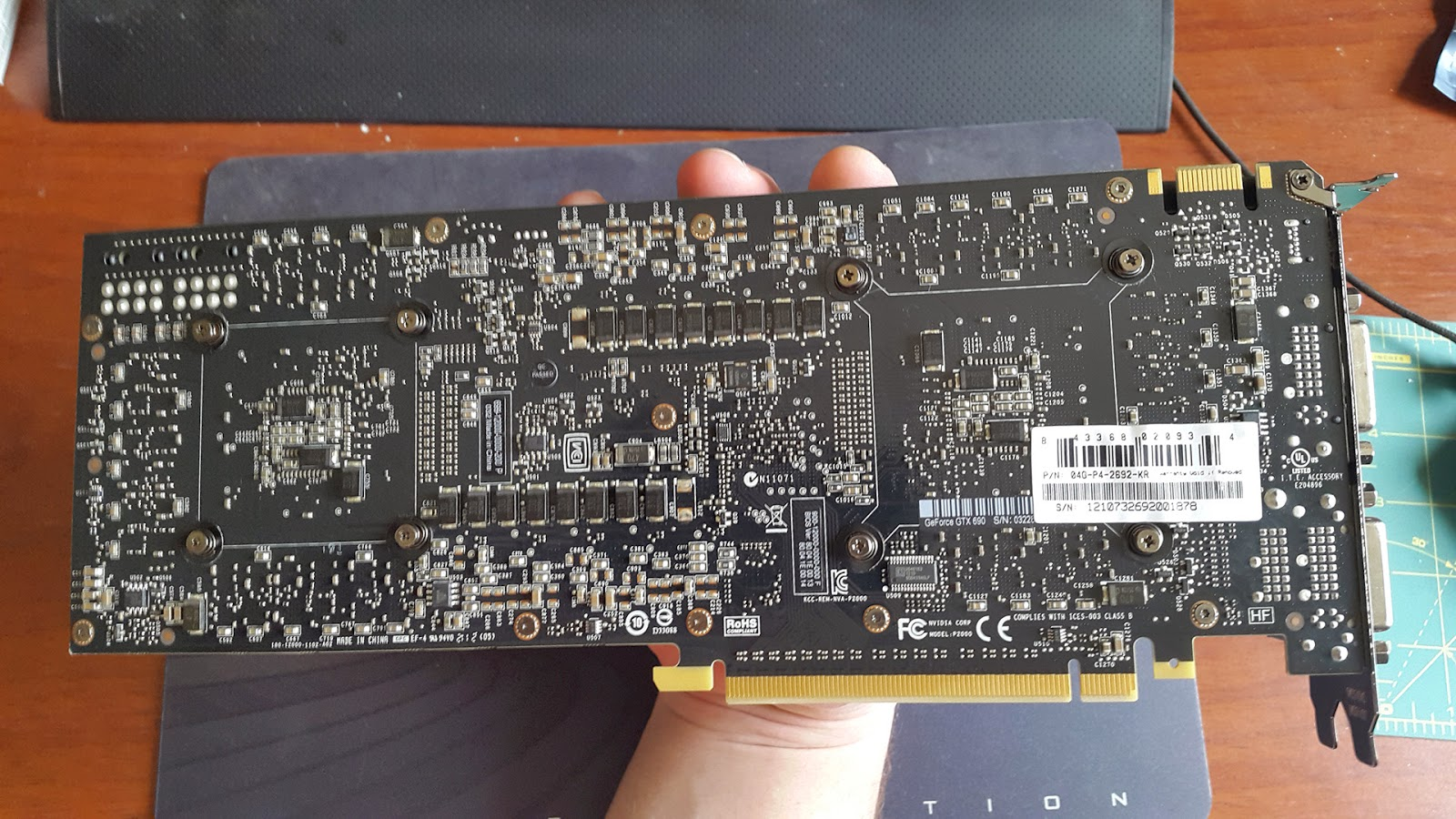 NVIDIA GeForce GTX 690 - Back