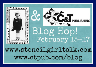 Kraft Tex and StencilGirl Blog Hop