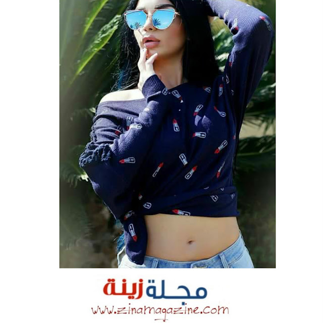 رنيم خاشو عارضة أزياء سورية تحلق في عالم الموضة والجمال