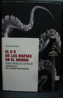 Portada del libro El G 9 de las mafias en el mundo, de Jean-Francois Gayraud