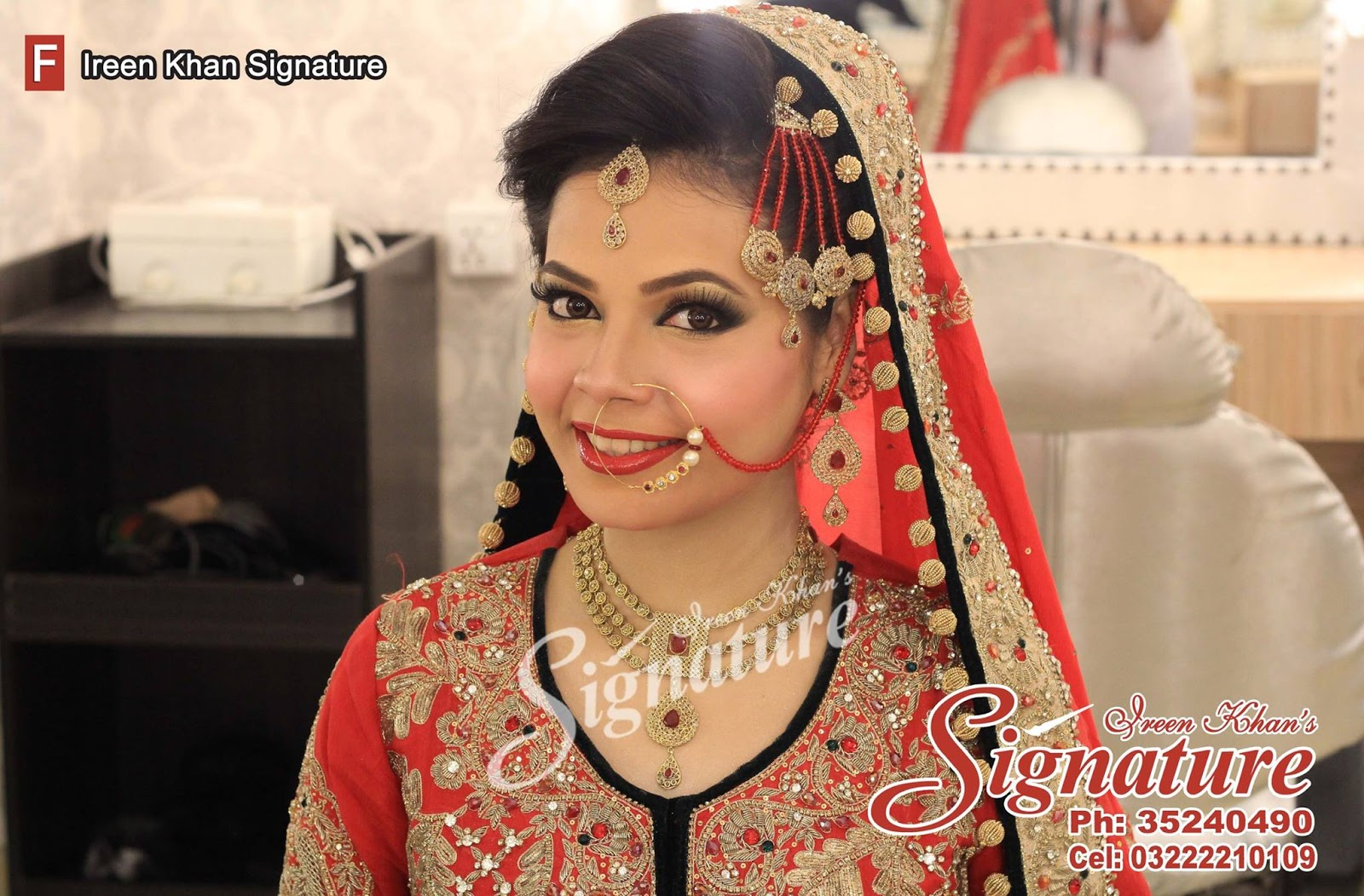 5 Most Popular Pakistani Beauty Parlors For Bridal Makeup | FS Fashionista