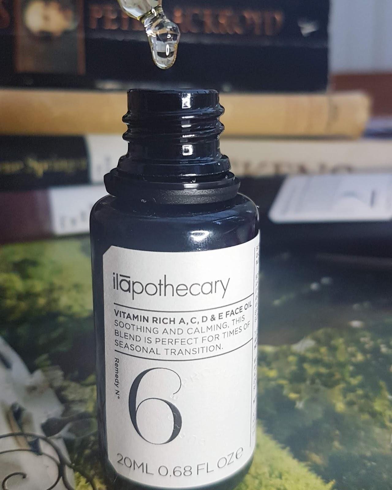 Ilapothecary Vitamin A C D & E Face Oil