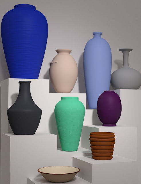 Ceramics for Iray