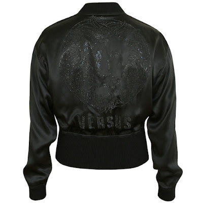 versace silk jacket
