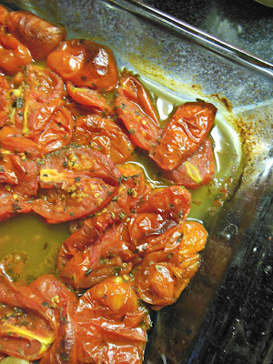 Easy Oven Roasted Tomato goodness!