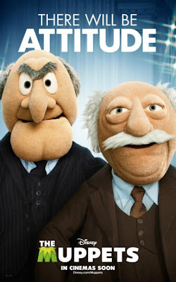 "The Muppets Character Movie Poster Set - Waldorf & Statler ""There Will Be Attitude"""