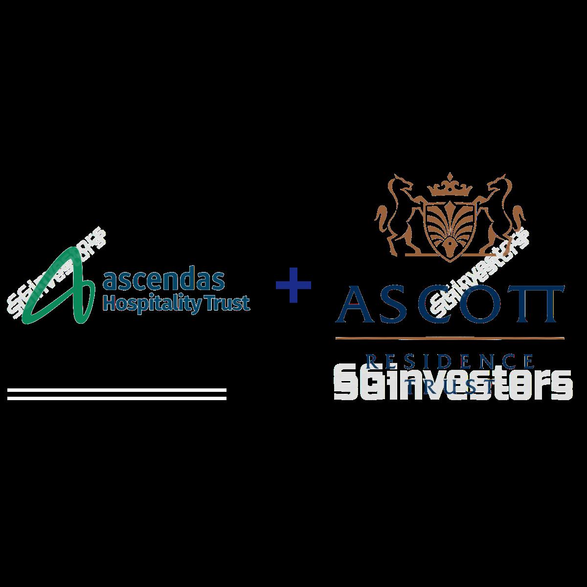 ASCOTT RESIDENCE TRUST (SGX:A68U) and ASCENDAS HOSPITALITY TRUST (SGX:Q1P) | SGinvestors.io