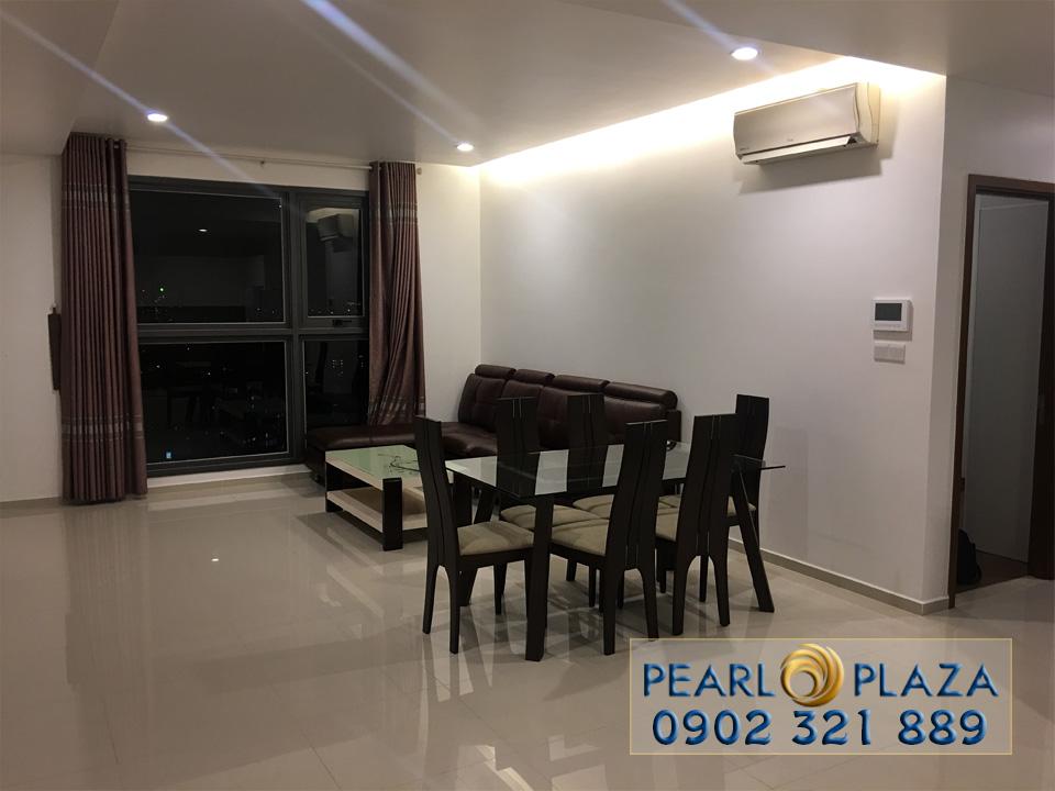 Pearl Plaza Bình Thạnh cho thuê căn hộ 2 phòng ngủ