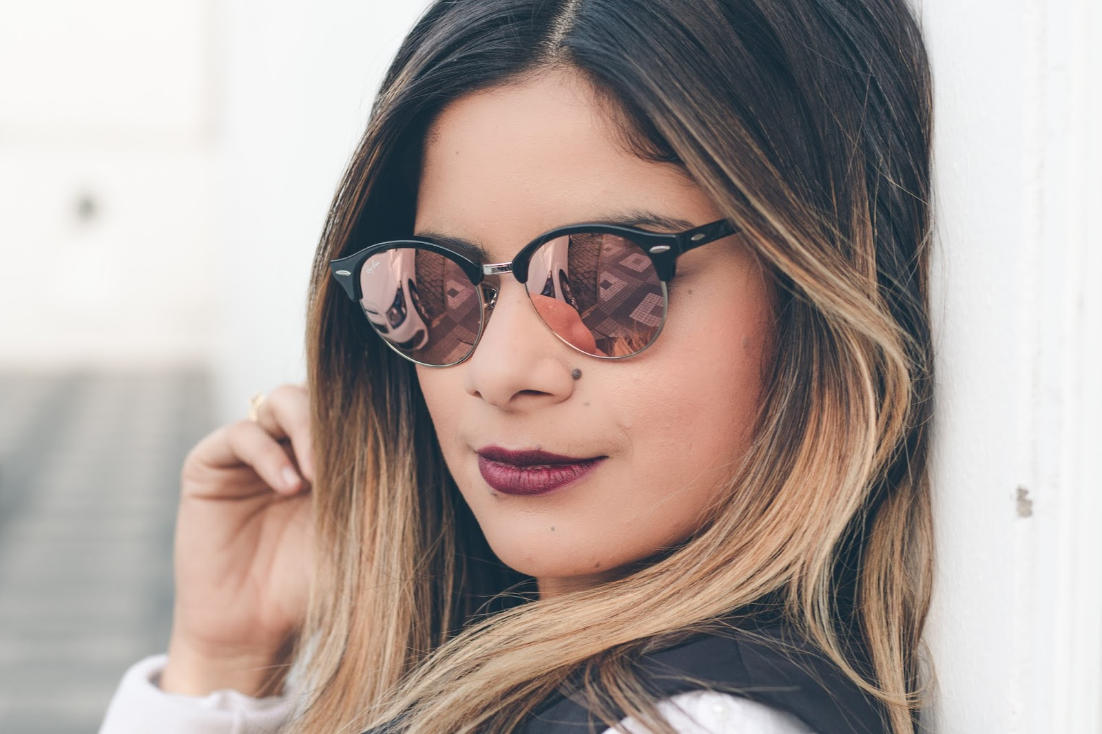 1799423812 Ray Ban Clubround Rose