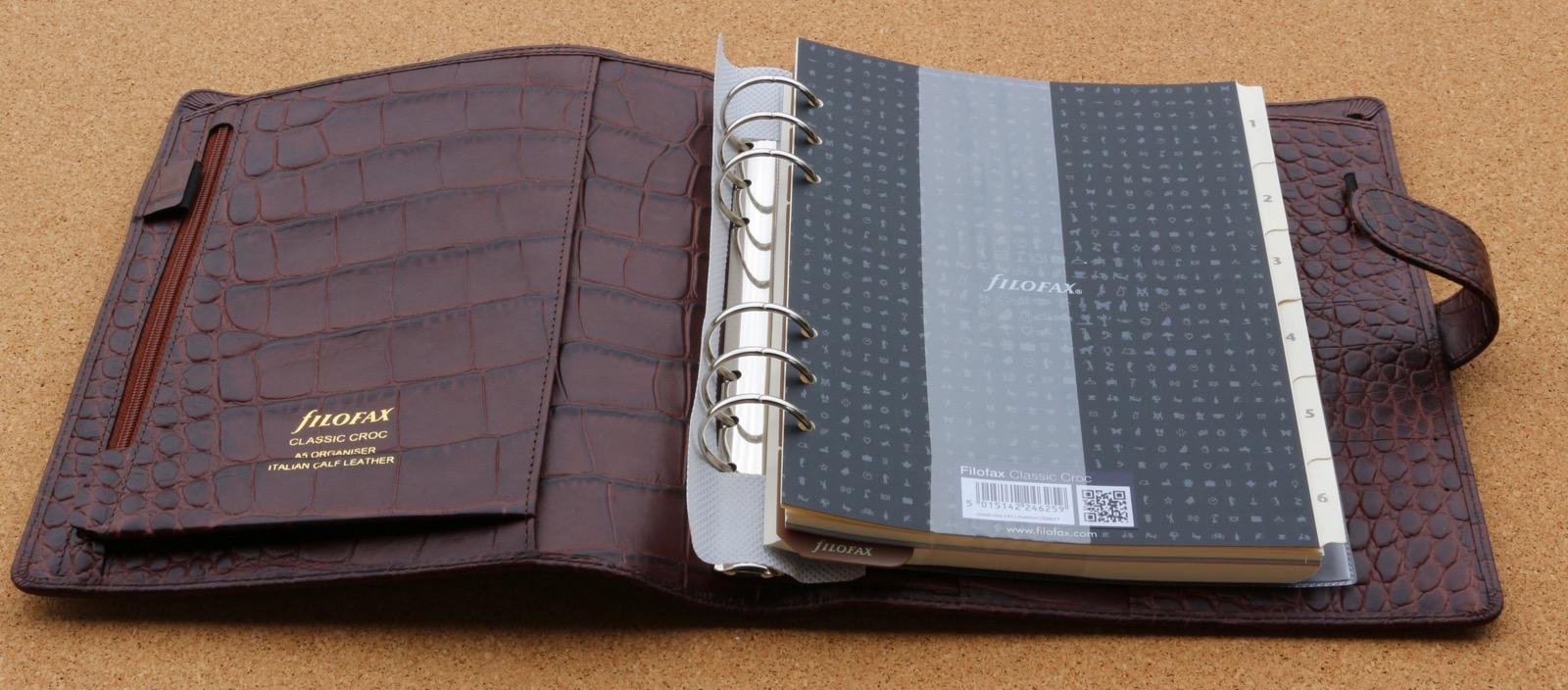 Philofaxy Filofax Classic Croc A5 Personal Organiser Review
