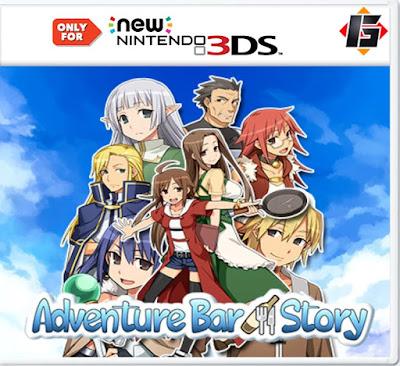 Adventure Bar Story CIA 3DS EUR