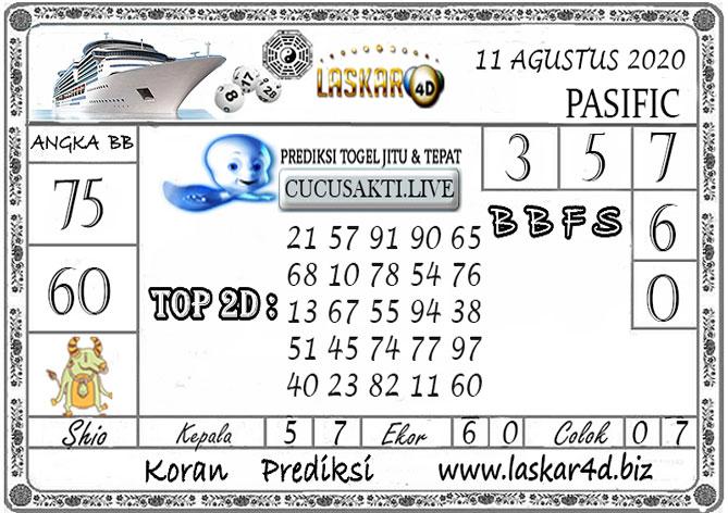 Prediksi Togel PASIFIC LASKAR4D 11 AGUSTUS 2020