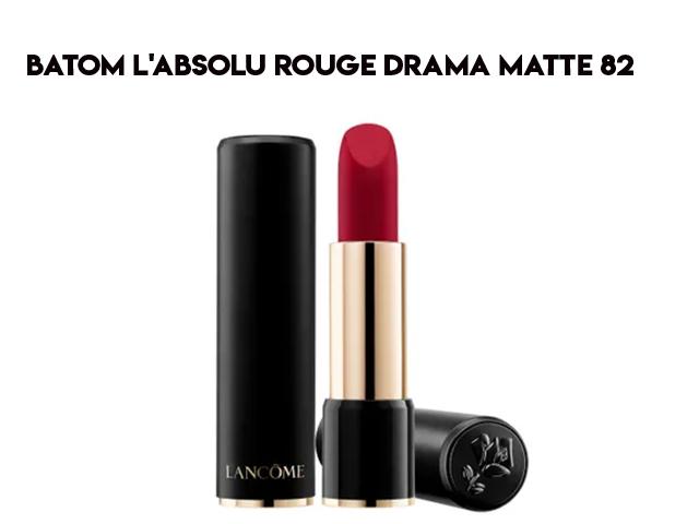 Conheça o batom L'Absolu Rouge Drama Matte Lancôme com Penelope Cruz