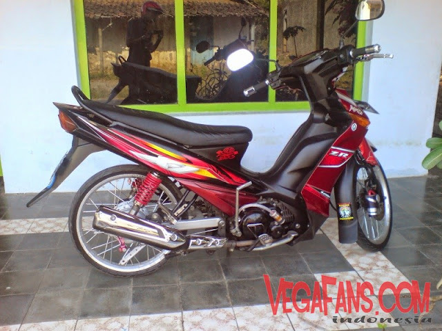 Vega ZR Modif Simple Elegan Merah 5