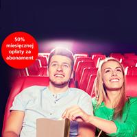 Promocja BZ WBK: Abonament Cinema City Unlimited za pół ceny
