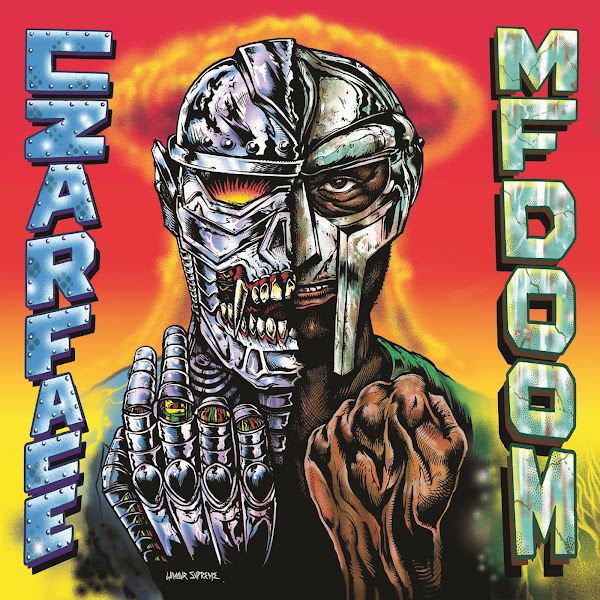 CZARFACE & MF Doom - Czarface Meets Metal Face Cover