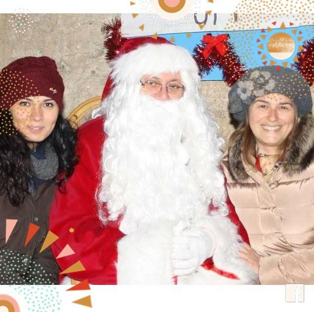 Babbo Natale a Massafra in Puglia