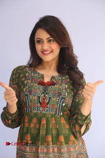 Actress Shruti Sodhi Pictures at Meelo Evaru Koteeswarudu Trailer Launch  0092
